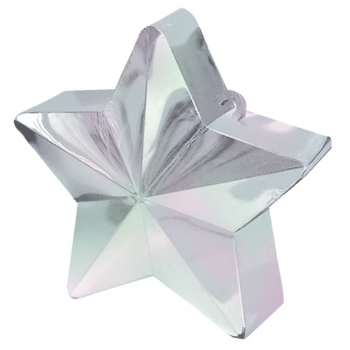 Iridescent Star Balloon Weight 6oz