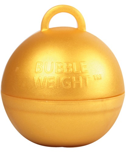 Gold Bubble Balloon Weights