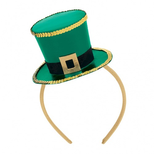 St Patricks Day Top Hat Fascinator