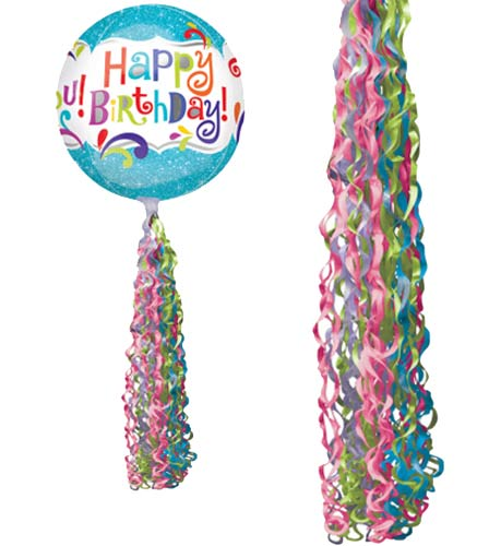Jewel Tone Coloured Twirlz Balloon Tails