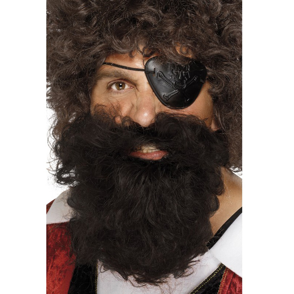 Brown Deluxe Pirate Beards