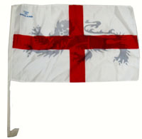 England St George Single Car Flag