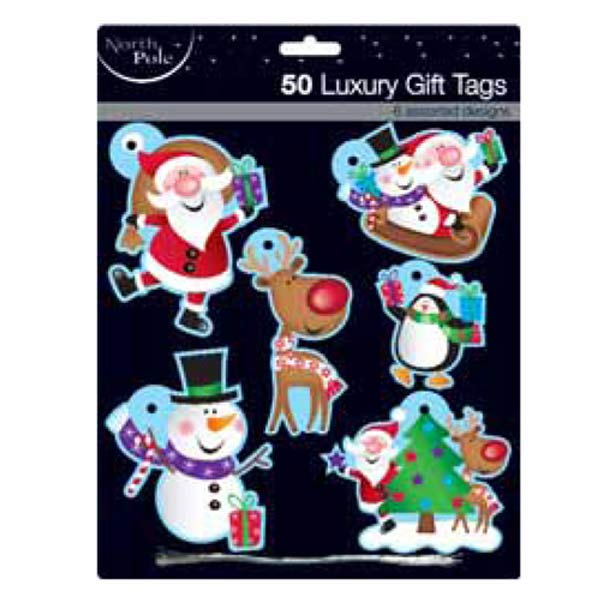 Cute Luxury Gift Tags 50pk