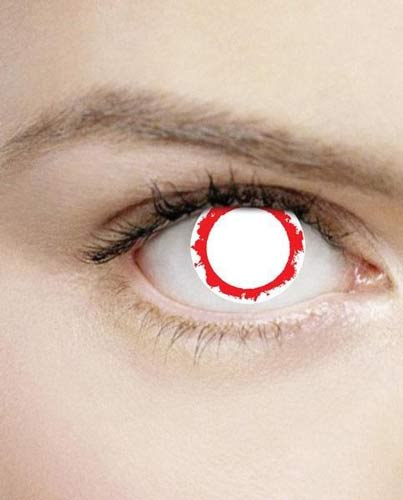 Blind Vampire Daily Contact Lenses
