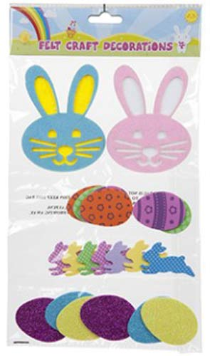 Easter Felt Craft Decoration Set