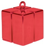 Qualatex Red Gift Box Balloon Weight