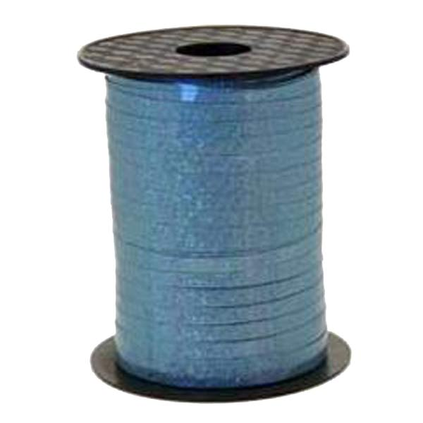 Metallic Holographic Ice Blue Curling Ribbon 250m