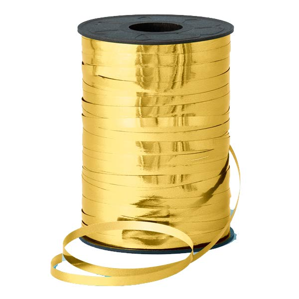 Metallic Gold Curling Ribbons 250m