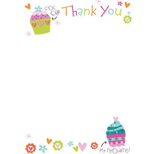Thank You Hanging Pad 20pk