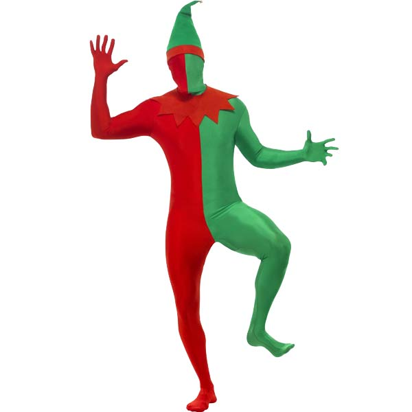 Elf Second Skin Fancy Dress Costumes