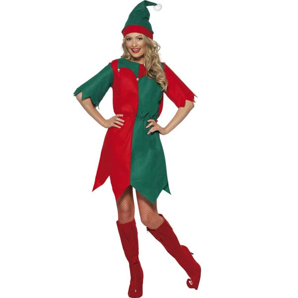 Bargain Elf Female Fancy Dress Costumes