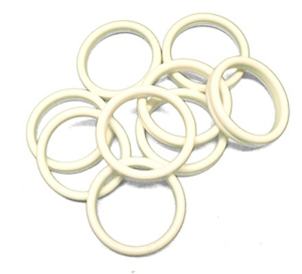 White Bangle Balloon Weights x100